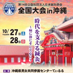 第14回公益社団法人日本鍼灸師会全国大会in沖縄